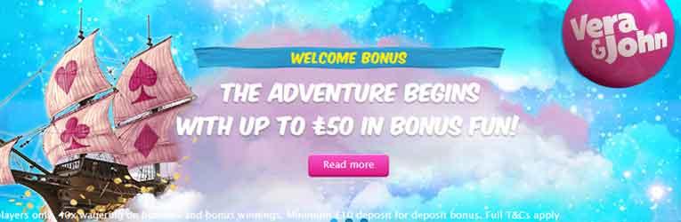 Online casino 10 welcome bonus no deposit