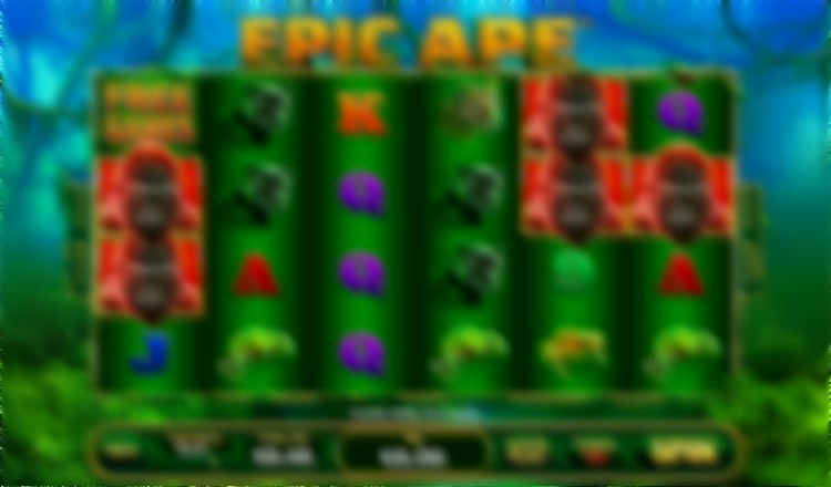 epic ape video slot