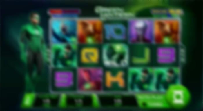 Play Green Lantern Slot Online at Casino.com UK