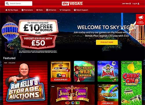 Skyvegas.Com £30 Free