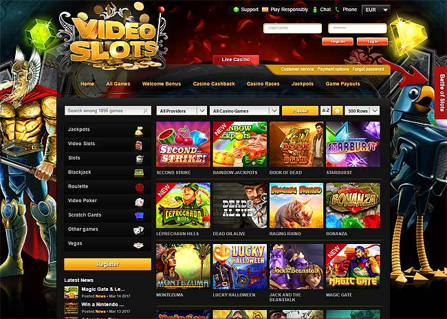 no deposit bonus code video slots casino