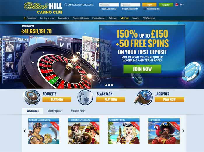 Free money william hill casino